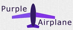 Purple Airplane
