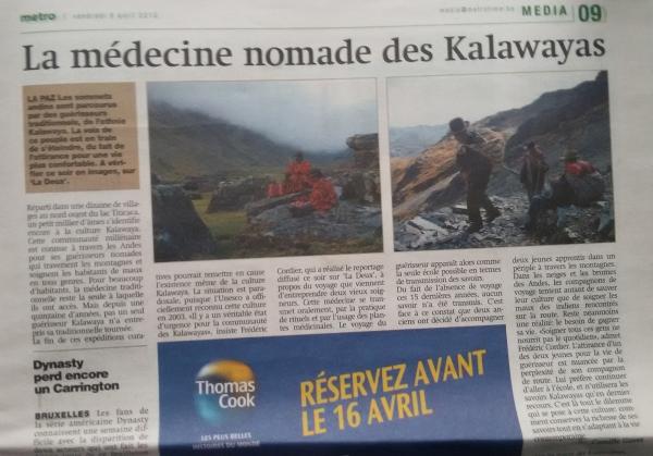 La medecine nomade des Kallawayas